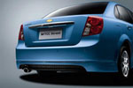 Юбка заднего бампера Chevrolet Lacetti (Ad-Tuning, AdTun-CL033)