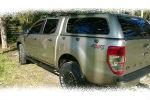 Хард-топ кунг (Canopy) для Ford Ranger (T6) 2014+ (Aeroklas, CanopyDC)