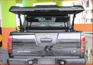 "Пластиковая крышка кузова с электромотором ""AVIATOR"" для Nissan Navara 2005-2015 (Aeroklas, AVIATOR)"