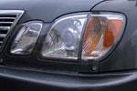 Защита фар Lexus LX 470 1998- (Airplex, HG663)