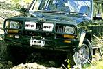 Дуга передняя Chrysler Cherokee 94-01 5D Deluxe bull bar 97-01 W/SRS 9/8 под лебёдку (ARB, 3450080)