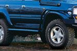 Боковая защита с защитой переднегно крыла Toyota LC 80-Series (ARB, 4411010)