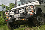 Передний бампер Land Rover Defender с дугой Deluxe Land Rover 110/DEFENDER 10/9 под лебёдку (ARB, 3432090)