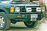 Передний бампер Land Rover Discovery II с дугой Deluxe TO99 NON AIRBAG под лебёдку (ARB, 3432080)
