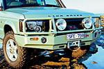 Передний бампер Land Rover Discovery II с дугой Deluxe SERIES 2 POST 02 (ARB, 3232120)