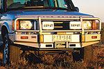 Передний бампер Land Rover Discovery II с дугой Deluxe SERIES 2 99ON W/AIRBAG (ARB, 3232060)