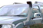 Выносной воздухозаборник Nissan Navara 2005- 2.5 (ARB, SS730HF)