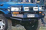Передний бампер Toyota LC 80 с дугой Deluxe SUITS FLARES (ARB, 3211050)