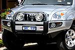 Передний бампер Toyota LC Prado 120 с дугой SAHARA BAR (ARB, 3921020)