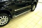 Защита штатных порогов d 42 Nissan Pathfinder 2010- (Союз-96, NPTF.86.0769)