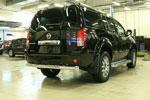 Защита задняя d 76 Nissan Pathfinder 2010- (Союз-96, NPTF.75.0218)