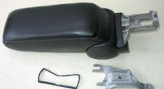 Подлокотник (черный, виниловый) для Audi A4 (B6/8E) 2001-2004 (ASP, BADA4B6-N)