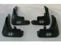 Брызговики (к-кт, 4шт.) для Hyundai I30 (5D/Mk1) 2009-2012 (ASP, BHYI30921)