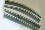 Дефлекторы окон (с молдингом из нерж. стали) для Kia Sportage (Mk4) 2015+ (ASP, BKAKX51623-W/S)