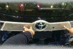 Накладка на заднюю дверь (верхняя) для Toyota Highlander (XU50) 2014+ (ASP, JMTTH14TGH)