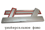 Накладки на внутренние пороги (нерж.) для Ford Ka III 2009- (Nata-Niko, P-FO17)