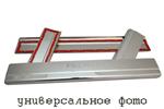 Накладки на внутренние пороги (нерж.) для Ford Ranger II 2006-(Nata-Niko, P-FO21)