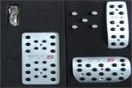Накладки на педали Audi Q7 (JS-AUTO, AUDI.Q7.PED.01)