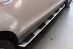 Боковые пороги для Audi Q7 2005-2009 (Kindle, Q7-S11)