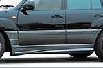 Спойлер порогов Lexus LX 470 98- (Jaos, 810010)