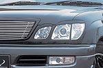 Накладки фар Lexus LX 470 98- передние (Jaos, 852015)