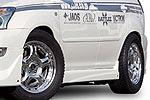 Спойлер порогов Lexus RX330 03- (Jaos, 810290)
