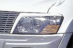 Накладки фар Mitsubishi Pajero V series Type A 99- передние (Jaos, 852310)