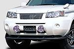 Спойлер переднего бампера Nissan X-Trail 03- (Jaos, 831652)