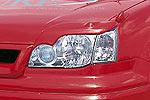 Накладки фар Nissan X-Trail Type A 00- передние (Jaos, 852650)