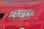 Накладки фар Nissan X-Trail Type B 00- передние (Jaos, 852652)