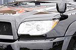 Накладки фар Toyota 4Runner 05- передние (Jaos, 852080)