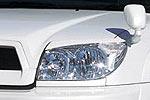 Накладки фар Toyota 4Runner 02-05 передние (Aura, A852074)