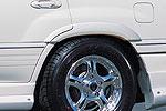 Расширители колёсных арок Toyota LC 100 98- 10mm (Jaos, 700010)