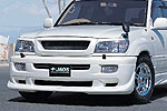 Комплект обвеса Toyota LC 100 98-02 под дв. выхлоп. систему (Jaos, 801011)