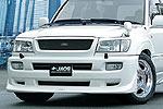 Комплект обвеса Toyota LC 100 02- под дв. выхлоп. систему (Jaos, 801013)