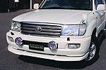 Спойлер переднего бампера Toyota LC 100 98-02 (Jaos, 831010)