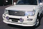 Спойлер переднего бампера Toyota LC 100 02- (Jaos, 831012)