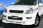 Спойлер переднего бампера Toyota LC Prado 120 02- (Jaos, 807050)
