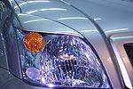 Накладки фар Toyota LC Prado 120 02- передние (Aura, A852054)