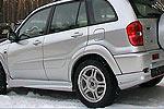 Спойлер порогов Toyota Rav4 5drs. 00-03 и заднего бампера (Jaos, 825275)