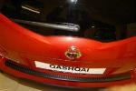 Накладка на задний бампер для Nissan Qashqai+2 2008+ (Automotiva, N-0008)