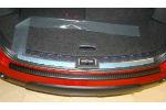 Накладка на задний бампер для Nissan Qashqai 2006-2013 (Automotiva, N-0009)
