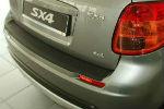 Накладка на задний бампер для Suzuki SX4 HB 2006-2012 (Automotiva, N-0031)
