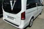 Накладка на задний бампер для Mercedes-Benz Vito (W447) 2014+ (Automotiva, N-0041)