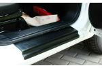 Накладки на пороги для Fiat Fiorino/Citroen Nemo/Peugeot Bipper 2008+ (Automotiva, P-0005)