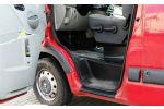 Накладки на пороги для Renault Master II/Opel Movano/Nissan Interstar 2007-2012 (Automotiva, P-0013)