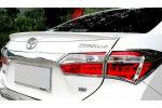 Спойлер крышки багажника (Сабля) для Toyota Corolla 2013+ (AVTM, TCC501116S)