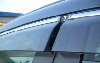 Дефлекторы окон (с молдингом) для Mazda CX-7 2006+ (AVTM, MACX706)