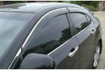 Дефлекторы окон (с молдингом) для Honda Accord SD 2008-2012 (AVTM, HOAC0812)