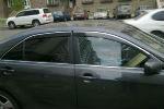 Дефлекторы окон (с молдингом) для Toyota Camry (V40) 2006-2011 (AVTM, TOCA5011)